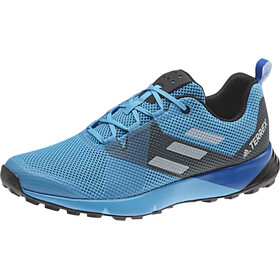 adidas TERREX Two Chaussures Homme, shock cyan/gretwo/core black
